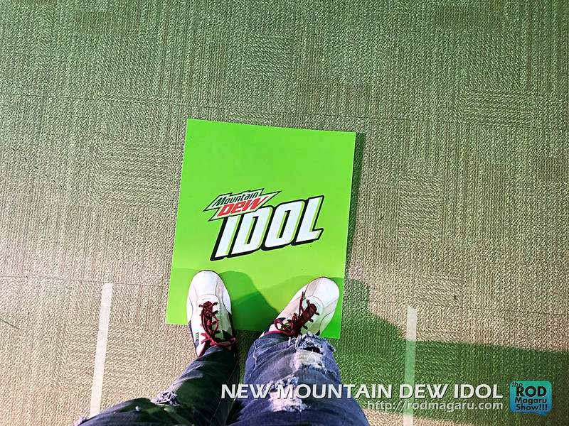 DEW IDOL JAMES REID MOUNTAIN DEW 20