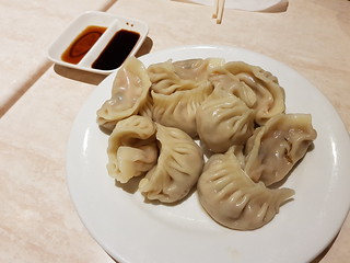 Steamed Dumplings at Tea Master