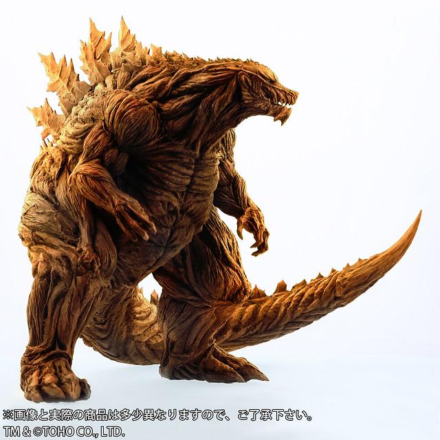 夕陽下令人絕望的龐大身影!X-PLUS 東寶30cm系列《GODZILLA 怪獸惑星》哥吉拉(ゴジラ・アース)少年RIC限定版