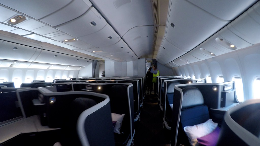 Virgin Australia business class 12