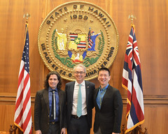 Lt. Governor Chin & Consul General Lorenzo Ortona