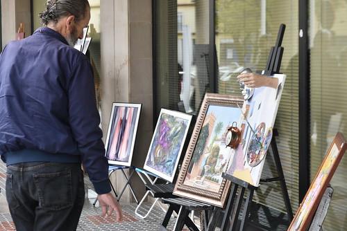 Muestra de Artes Plásticas al Aire Libre en Huerta Palacios