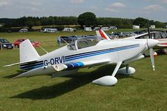 G-ORVI Vans RV-6 (20036) Popham 080810