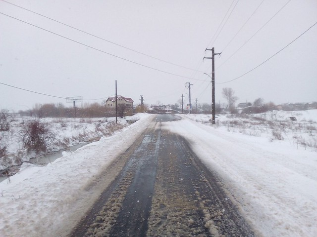 Circulatia pe drumurile publice in comuna Cernica 23-Martie-2018