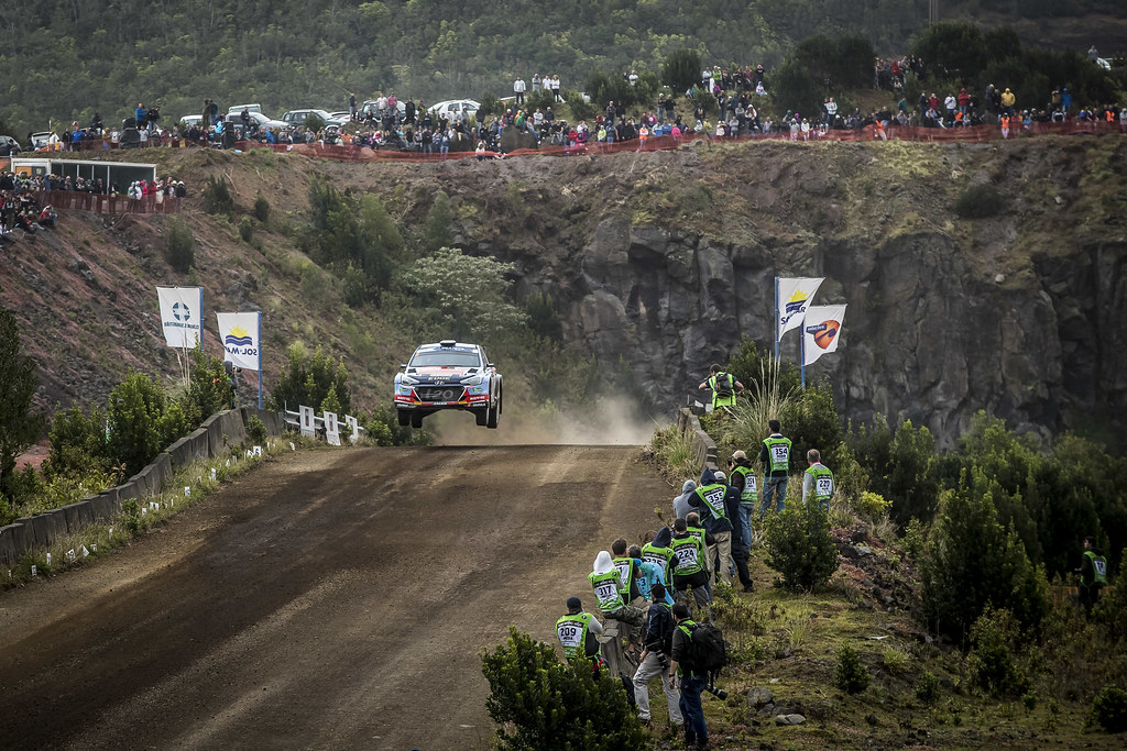 06 VIEIRA Carlos (prt),  CARVALHO Jorge (prt), TEAM HYUNDAI Portugal, HYUNDAI I20 R5, action during the 2018 European Rally Championship ERC Azores rally,  from March 22 to 24, at Ponta Delgada Portugal - Photo Gregory Lenormand / DPPI