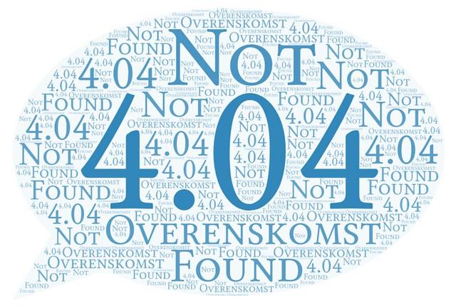 4.04 Overenskomst Not Found