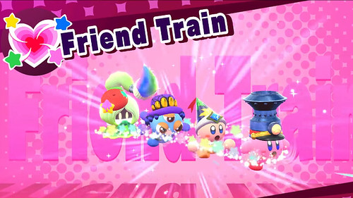Kirby All Star Allies - Friend Train
