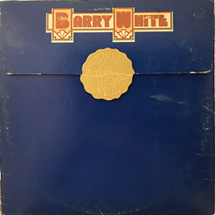 BARRY WHITE:BARRY WHITE THE MAN(JACKET A)