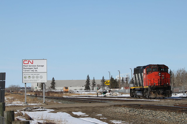 CN Rail Edmonton, Dunvegan, Canon EOS REBEL T1I, Canon EF 70-200mm f/4L IS
