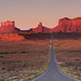 Monument valley at sunrise, Arizona