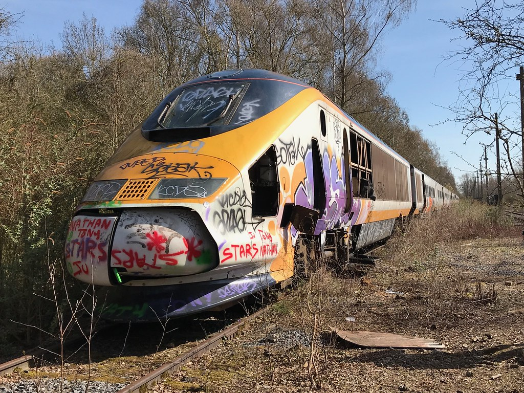 abandoned eurostar train the places i have been. Black Bedroom Furniture Sets. Home Design Ideas