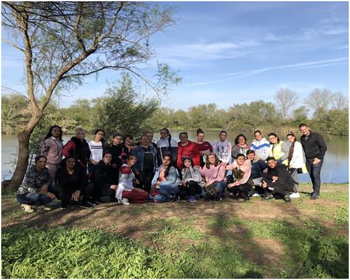 Alumnado de la Zona Sur visita la Laguna de Fuente del Rocío