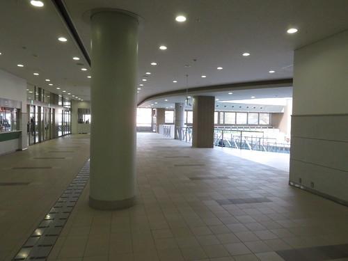 福島競馬場の2階パドックまわり