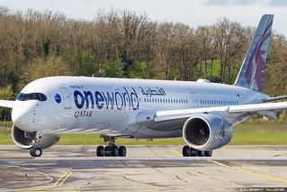 Qatar Airways Airbus A350-941 cn 143 F-WZFO // A7-ALZ