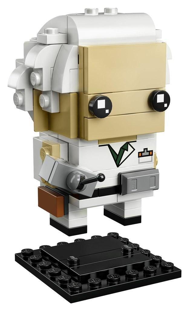 LEGO-BrickHeadz-41611-Back-to-the-Future-Marty-McFly-and-Doc-Brown-Doc-Platform