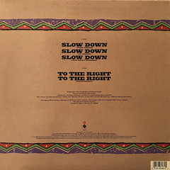 BRAND NUBIAN:SLOW DOWN(JACKET B)