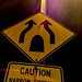 Caution Narrow Entrance
