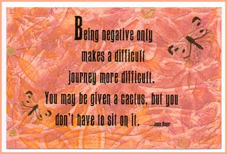 Being Negative ..... quote