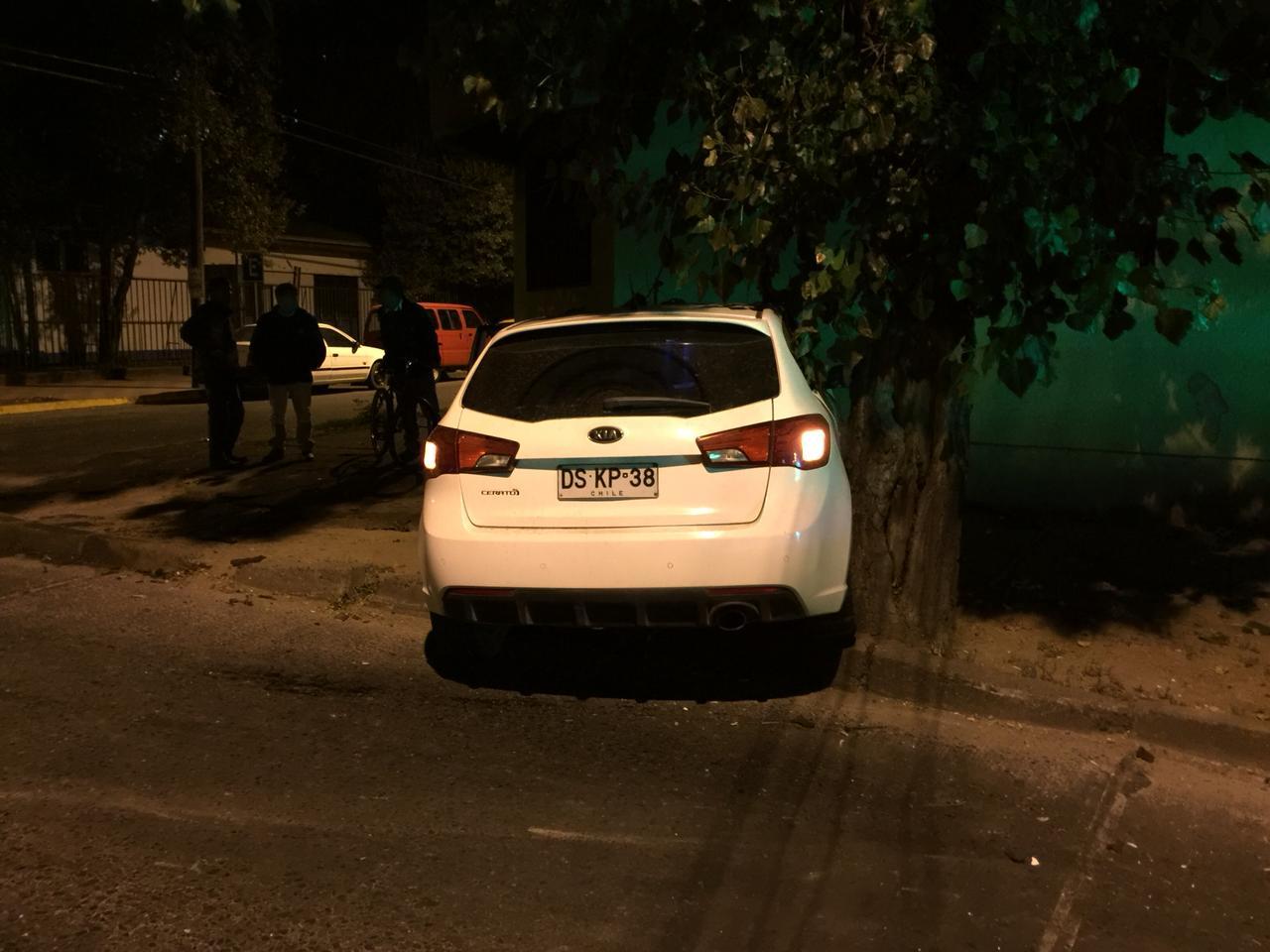 LINARES; Colisión entre vehículos deja 4 personas lesionada