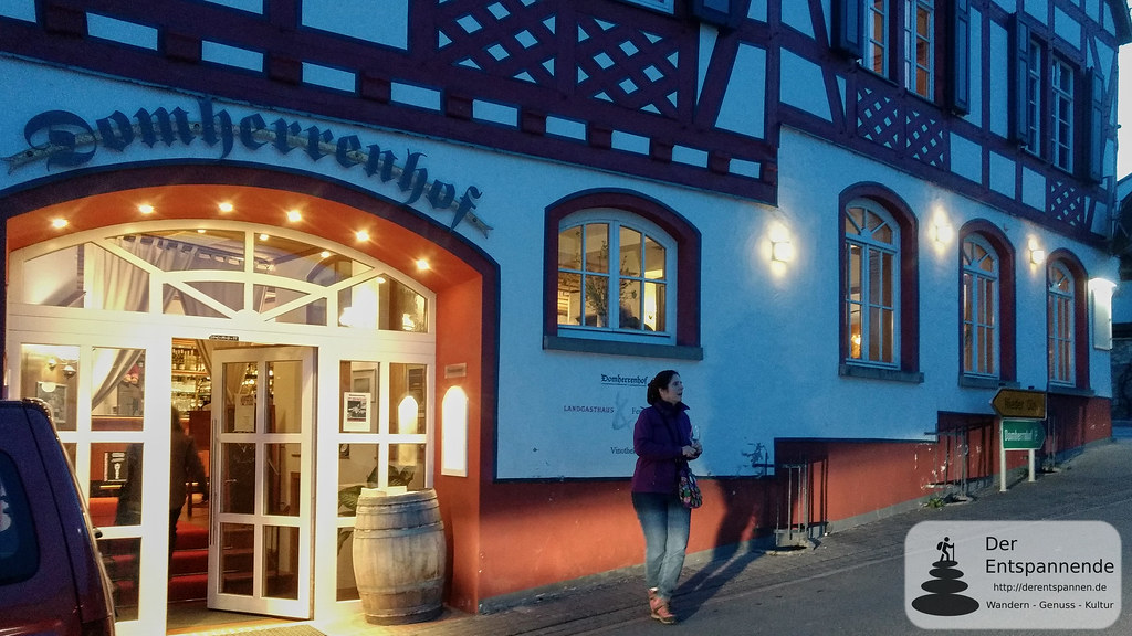 Domherrenhof in Essenheim, Vorabendveranstaltung Vinocamp Rheinhessen 2018