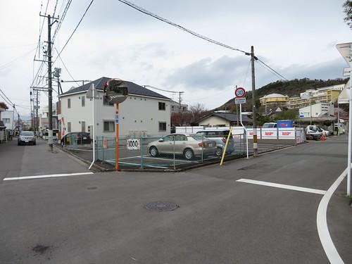 福島競馬場の第3駐車場付近の民間駐車場
