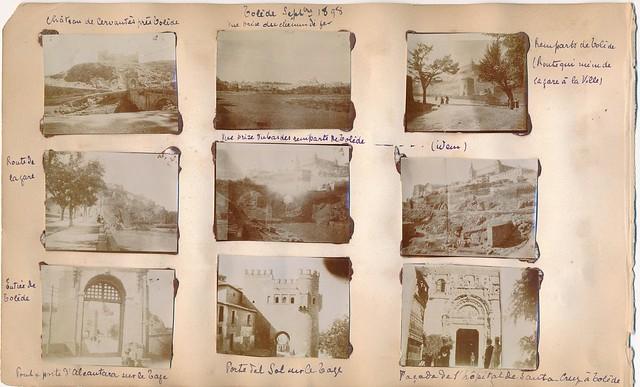 Toledo en 1898. Fotografía de un anónimo francés.