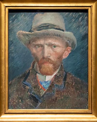 Self-portrait | Vincent van Gogh | 1887 | The Rijksmuseum-83