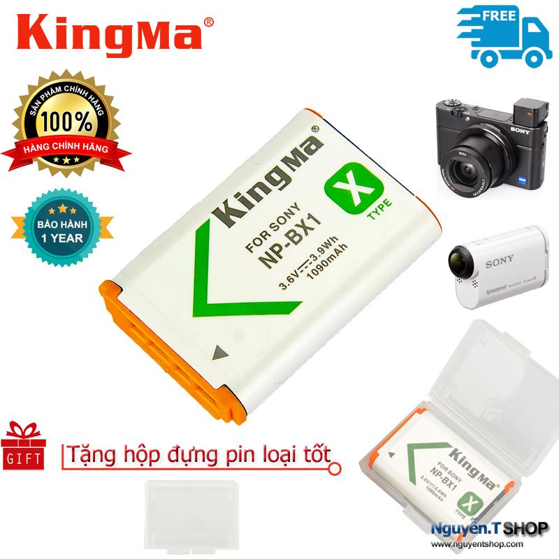 Pin chính hãng KingMa NP-BX1 cho Sony RX100 AS30V AS100VR HX400 WX300