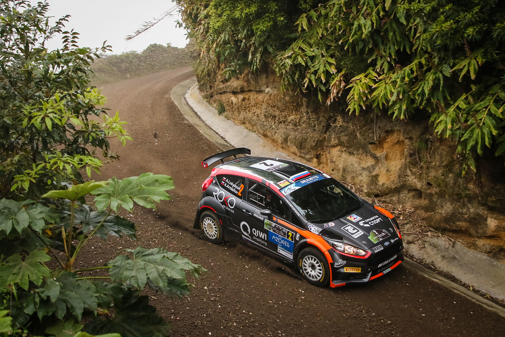 02 LUKYANUK Alexey (rus), ARNAUTOV Alexey (rus), RUSSIAN PERFORMANCE, Ford Fiesta R5 action during the 2018 European Rally Championship ERC Azores rally,  from March 22 to 24, at Ponta Delgada Portugal - Photo Jorge Cunha / DPPI