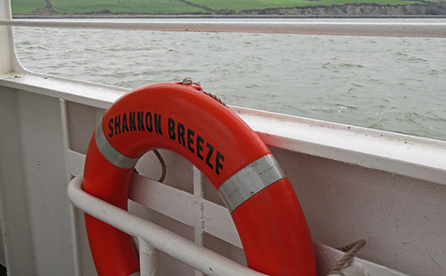 Life Buoy on the Shannon Breeze Ferry, Ireland