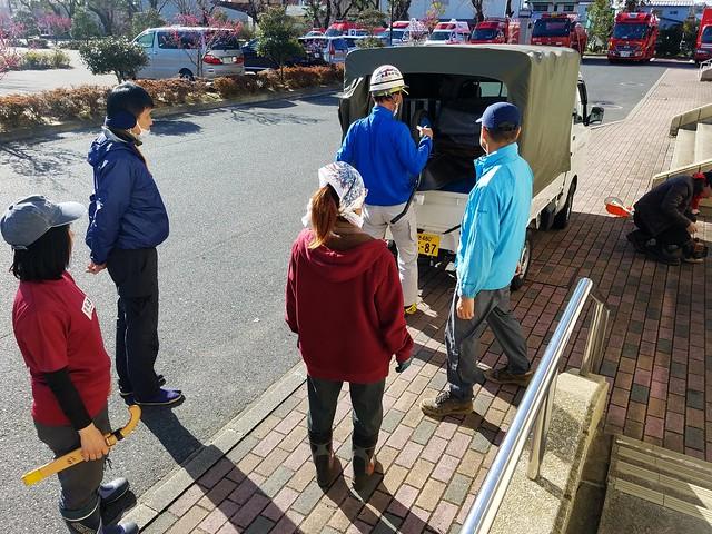 福島県浪江町で災害ボランティア(援人 2018年 0323便)
