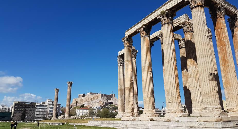 De Tempel van de Olympische Zeus | Mooistestedentrips.nl