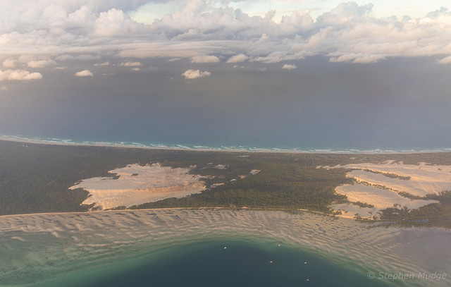 Late afternoon light on Moreton Island
