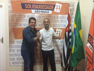 Lideranças de Ferraz de Vasconcelos visitam sede do Solidariedade-SP
