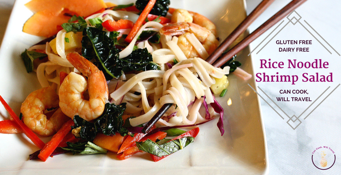 Rice Noodle Shrimp Salad