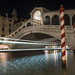 Rialto Bridge At Night by A Guy Taking Pictures