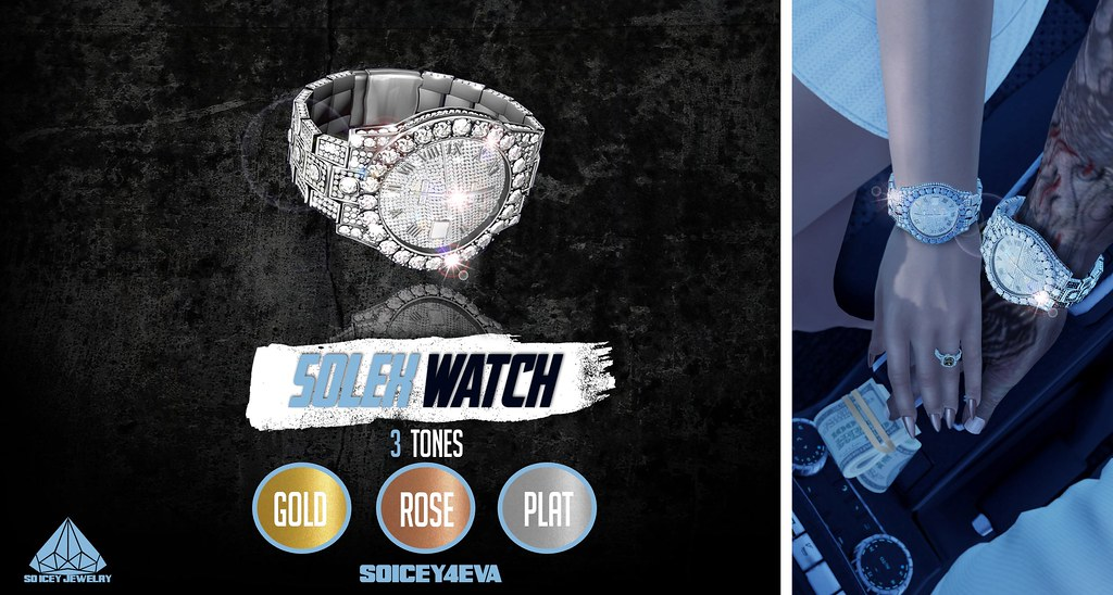 💎SOICEY4EVA💎 🔥SOLEX Watch🔥 Now Available! - TeleportHub.com Live!