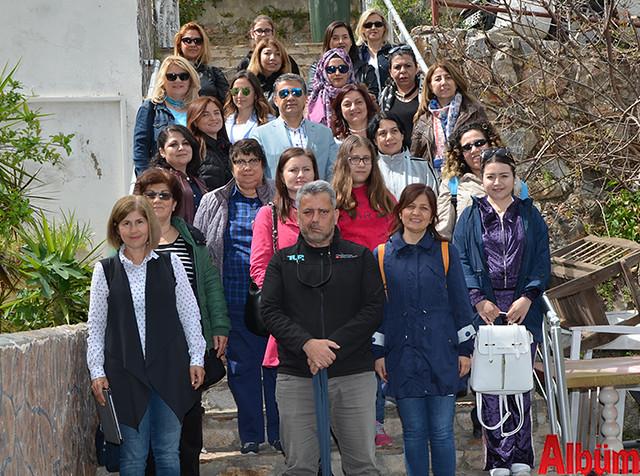 Antalya Basın Yayın Enformasyon İl Müdürlüğü 8 Mart Dünya Kadınlar Günü Alanya Gezisi