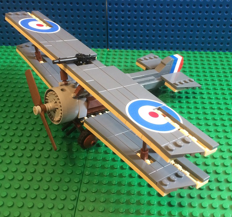 Sopwith Camel T F 1 (Trench Fighter) Brickmania MOD - Special LEGO