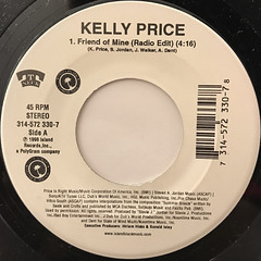 KELLY PRICE:FRIEND OF MINE(LABEL SIDE-A)