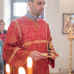 12 апреля 2018 г. Праздничное богослужение в храме святого праведного Филарета Милостивого
