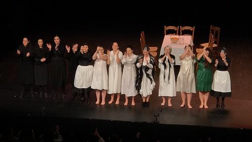 La casa de Bernarda  Alba por ESM Teatro-Skené Euskadi