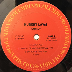 HUBERT LAWS:FAMILY(LABEL SIDE-B)