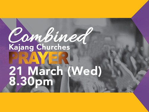 combined kajang churches 21 march