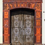 Das Eingangsportal der Schinkelklause