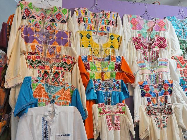 Zapotec Embroidered Blouses Oaxaca Mexico