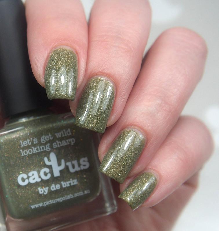 Picture Polish Cactus
