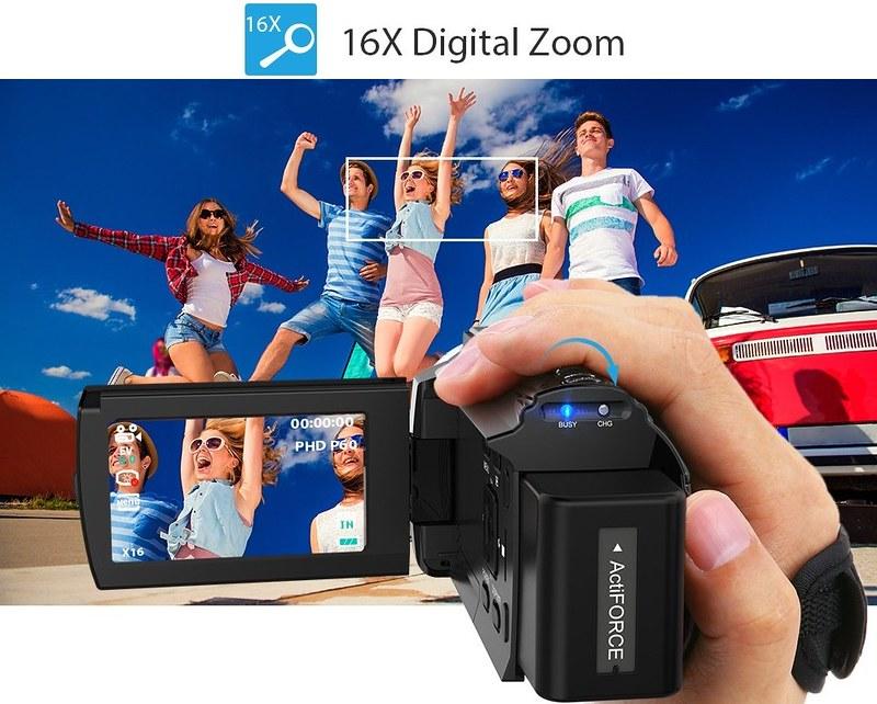 Andoer 4K ビデオカメラ (15)