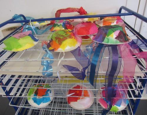 jellyfish drying