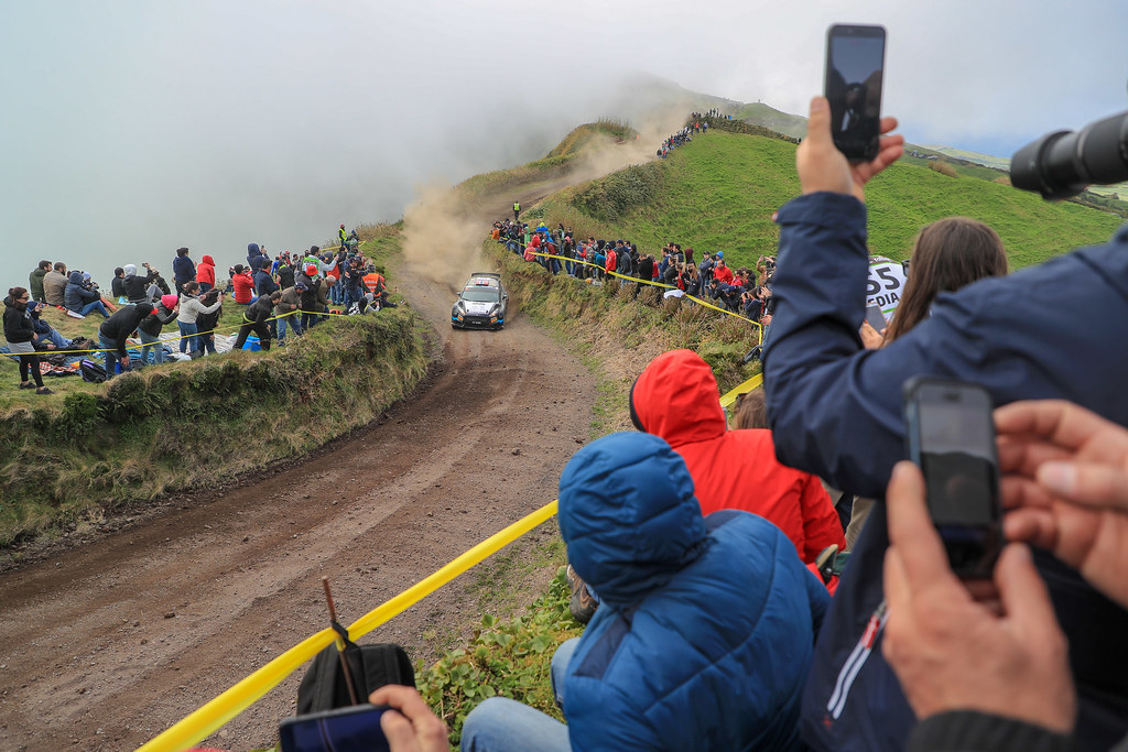 15 TORE LARSEN Frank (nor), ERIKSEN Trosten (nor), FORD FIESTA R5, action during the 2018 European Rally Championship ERC Azores rally,  from March 22 to 24, at Ponta Delgada Portugal - Photo Jorge Cunha / DPPI